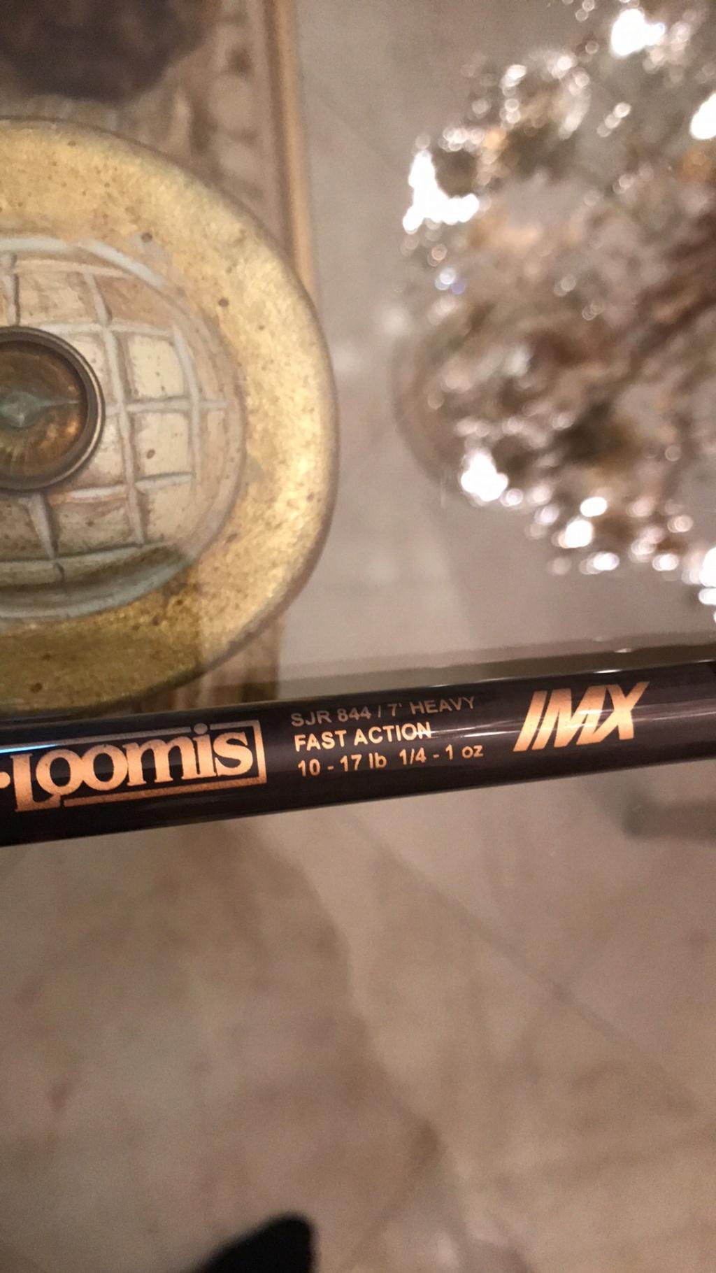 [Vendo] GLoomis SJR844 IMX ( nuova da negozio ) 70ced410