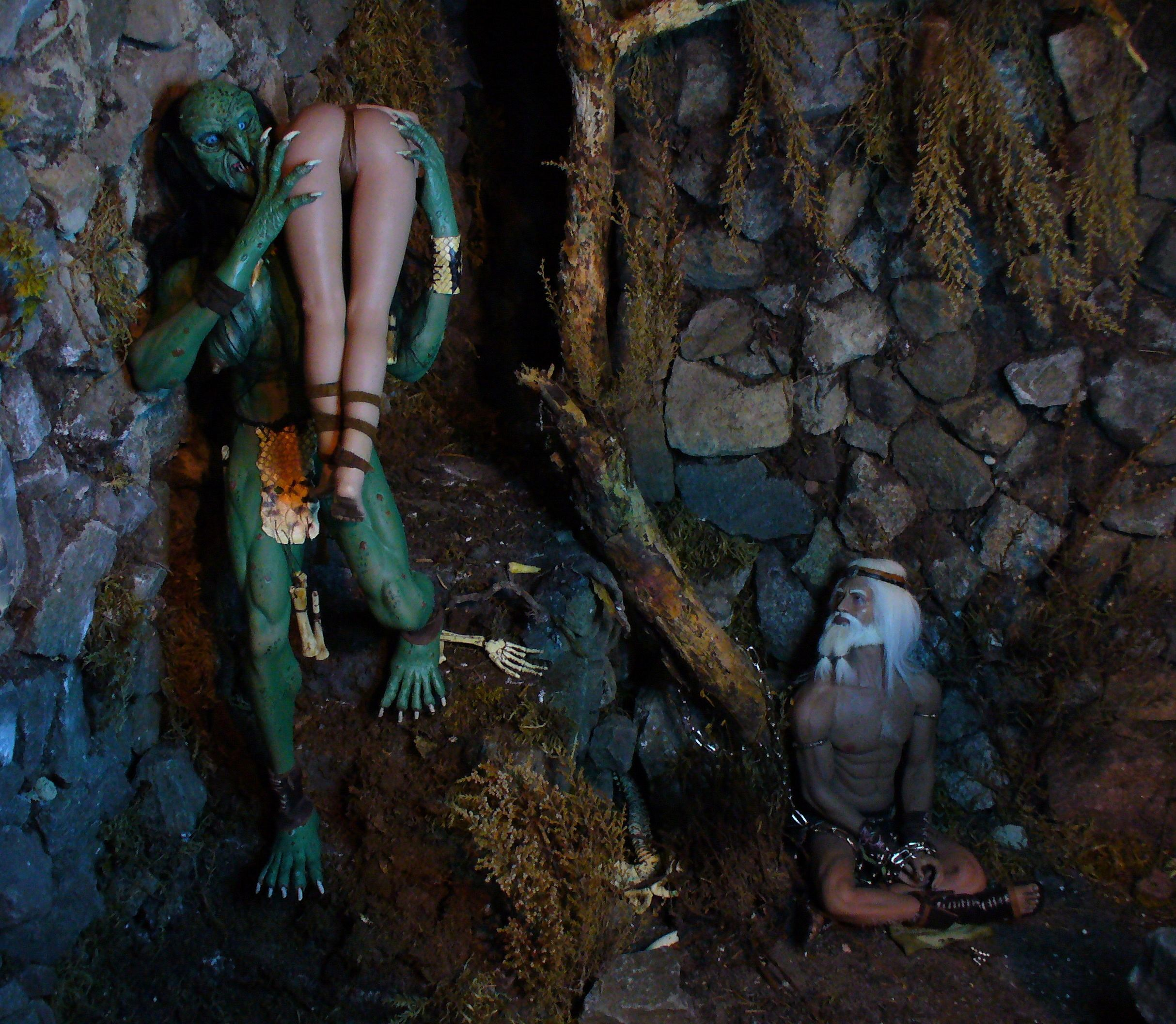 Troll Cave Chapter One and Two: The Escape of Skerf (Blood, violence, sexual content) please adults only (updated July 2019) 110