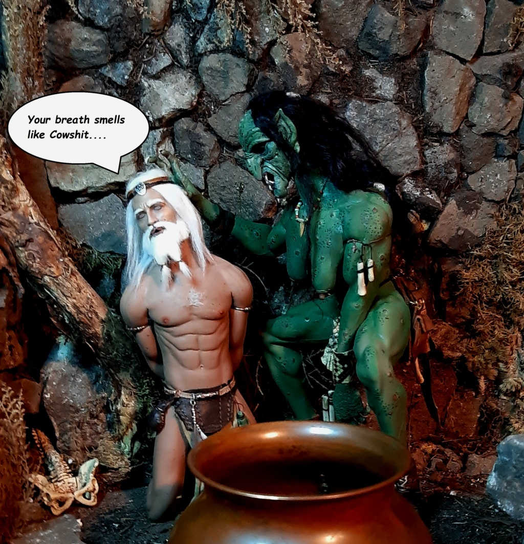 Troll Cave Chapter One and Two: The Escape of Skerf (Blood, violence, sexual content) please adults only (updated July 2019) B111