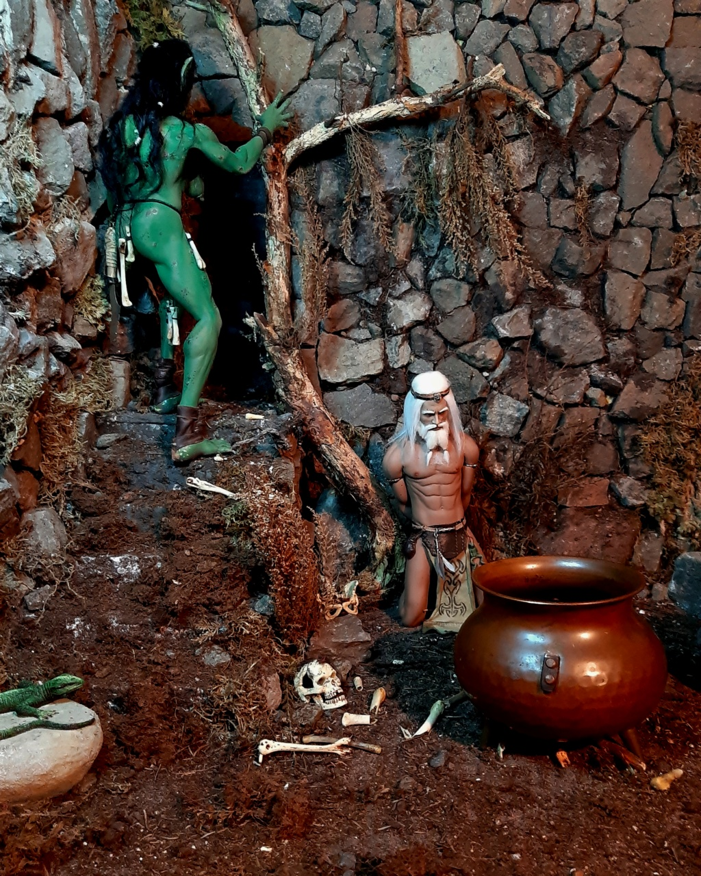 Troll Cave Chapter One and Two: The Escape of Skerf (Blood, violence, sexual content) please adults only (updated July 2019) E10