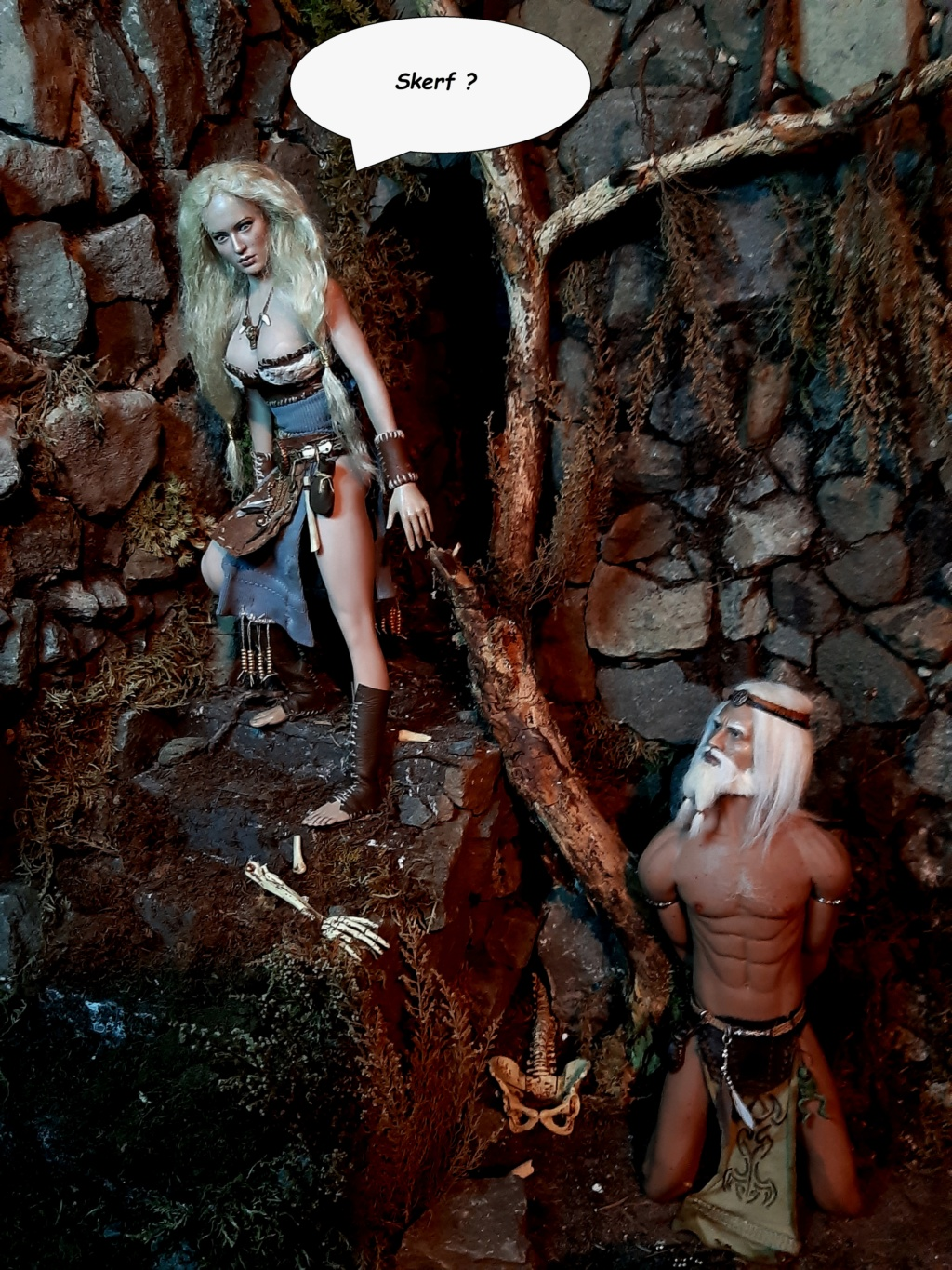 Troll Cave Chapter One and Two: The Escape of Skerf (Blood, violence, sexual content) please adults only (updated July 2019) J10