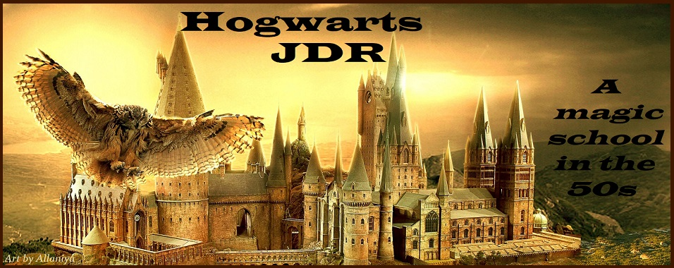 Hogwarts JDR, A Magic School in the 50s