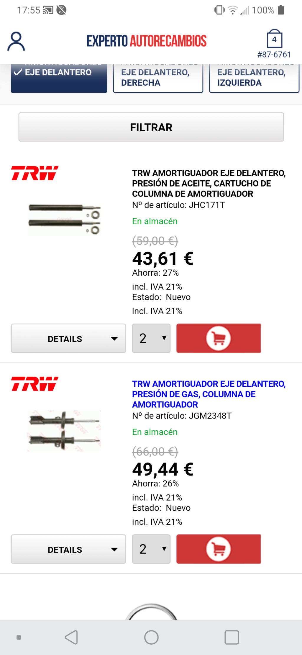 Amortiguadores 2.0 dti Screen12
