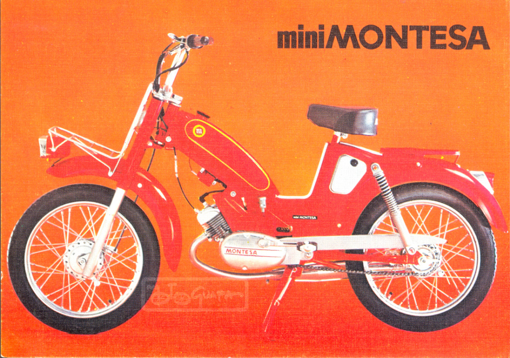 montesa - Presentación Mini Montesa 19682011