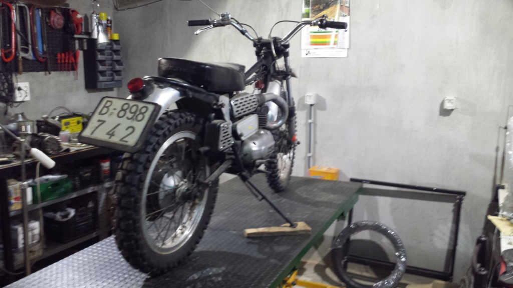 Restauración Lobito 74 Mk3 20190917