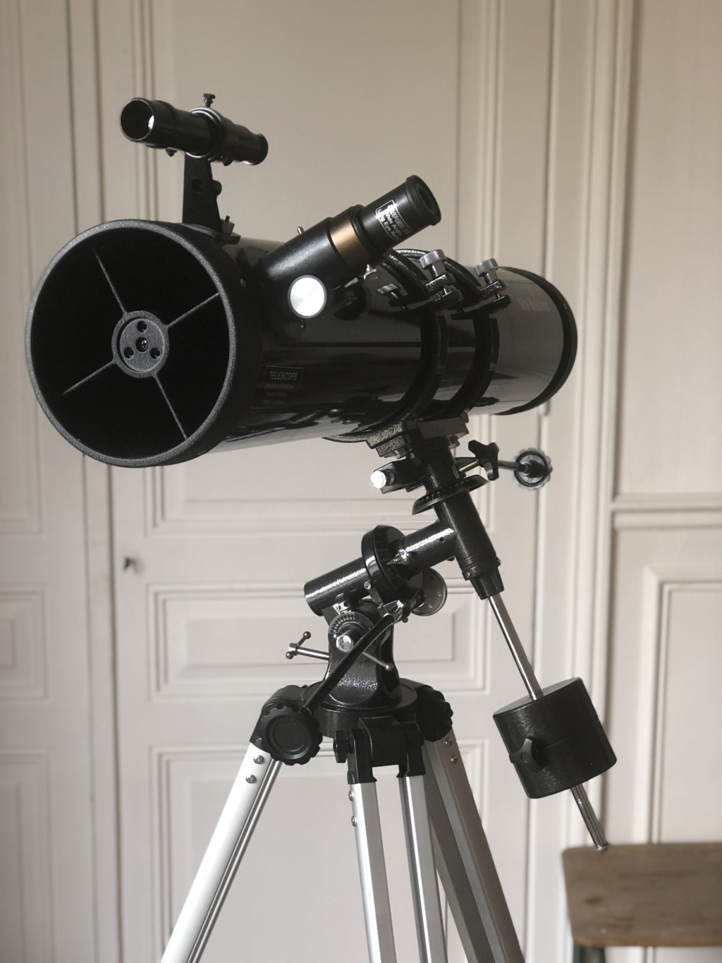 (A VENDRE) Skywatcher Newton 130/900 Explorer EQ-2 + sac de transport Omegon Img_9620