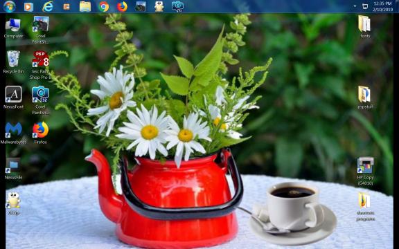 what is on your desktop Destop10