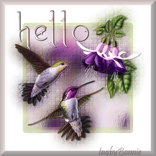 Tutorial Jun 25th - Summer Hummers Hello610