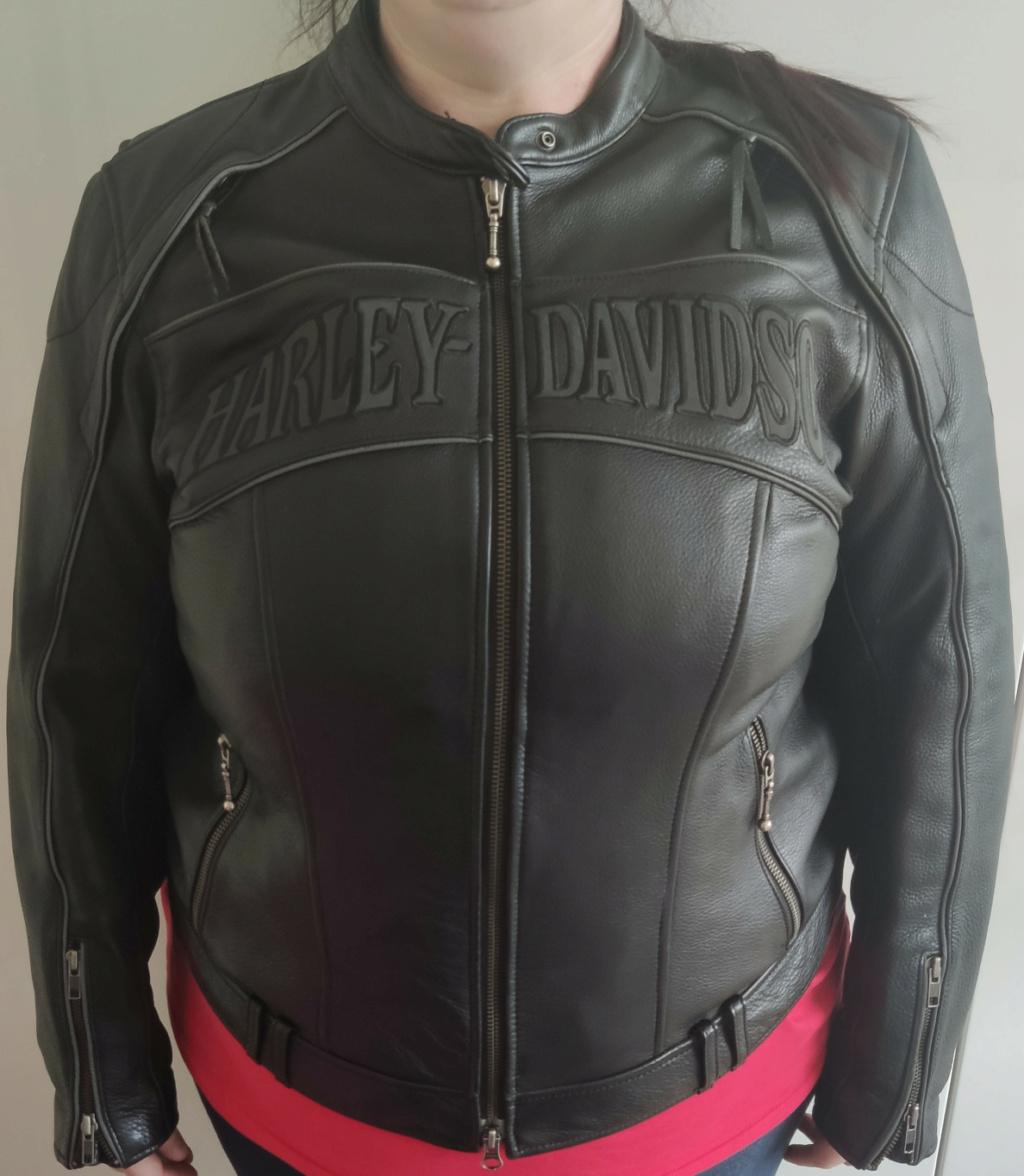 Blouson Cuir Harley Femme Blouso14