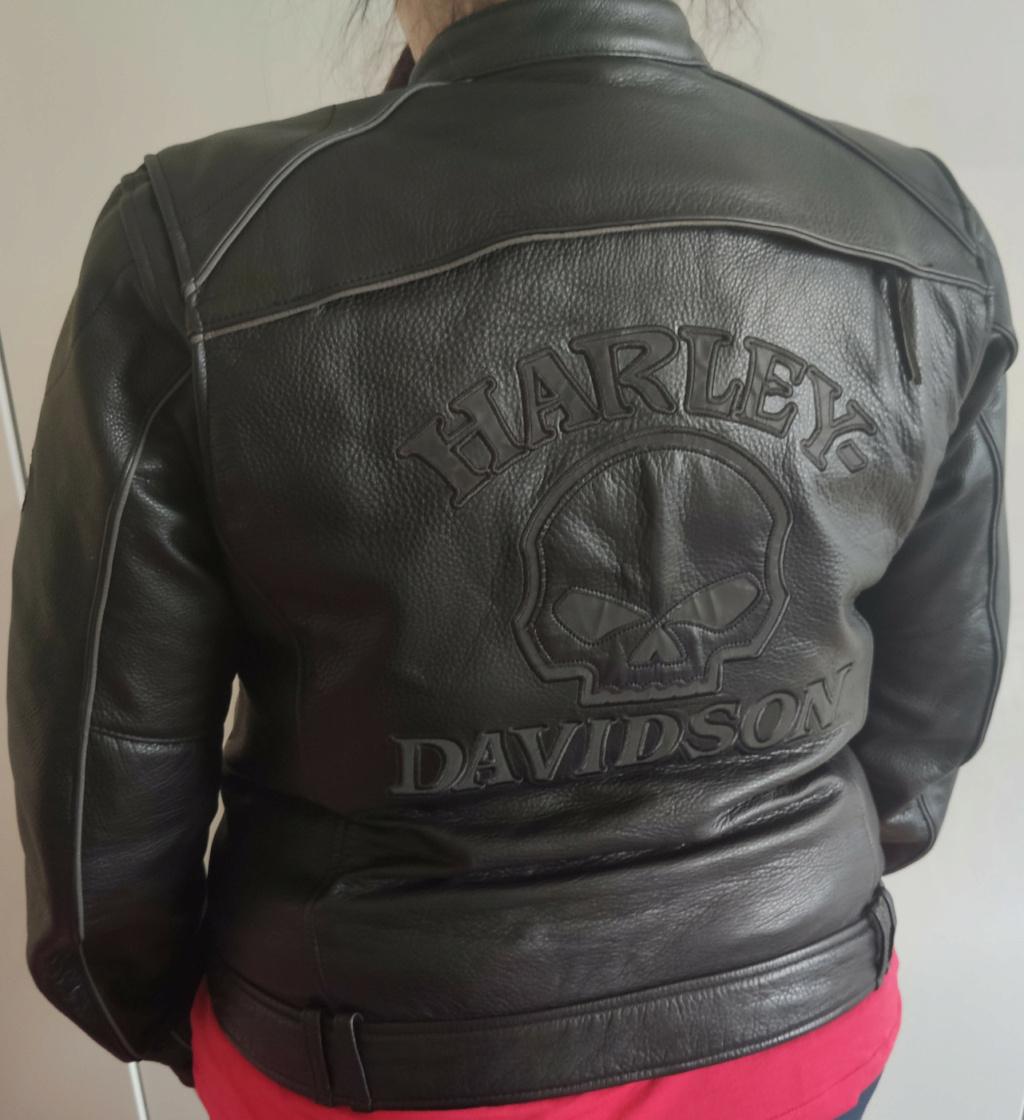 Blouson Cuir Harley Femme Blouso15