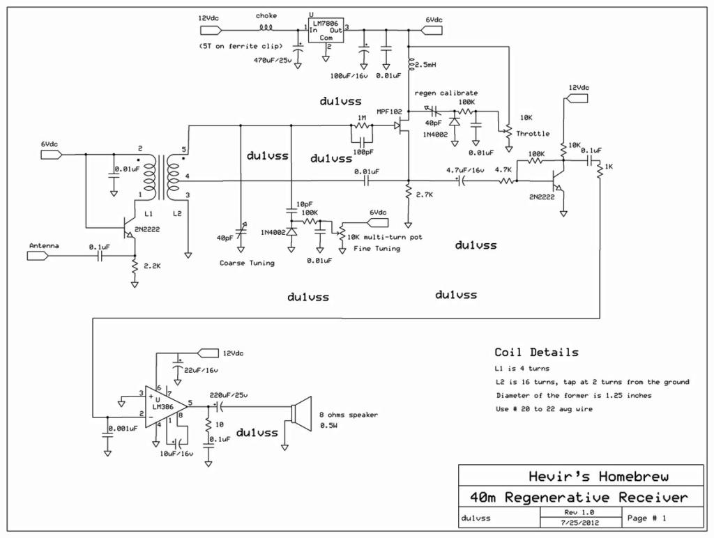Projet perso construction d'un récepteur RF 40m-re10