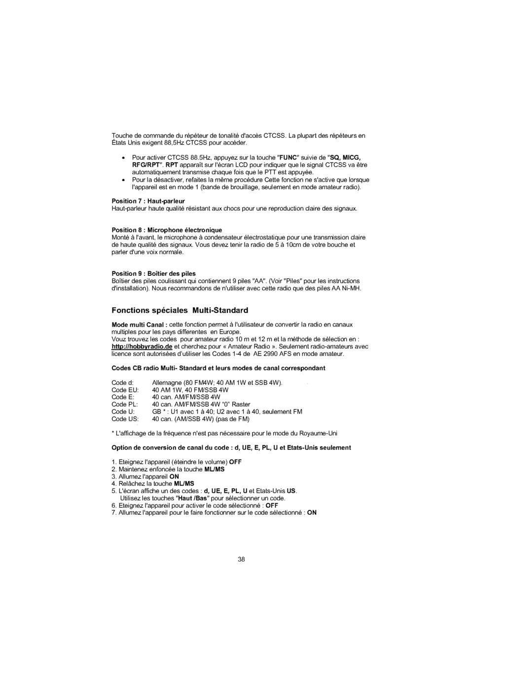 Albrecht AE 2990 AFS (Portable) - Page 2 Ae299010