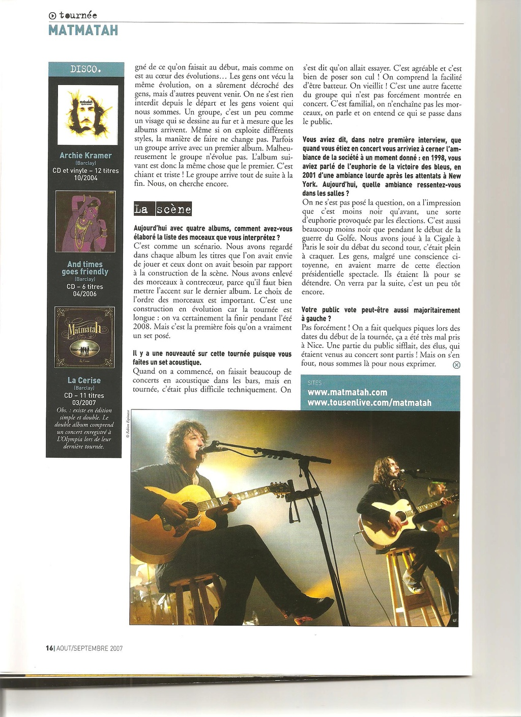 Archives - anciens articles... Franco24