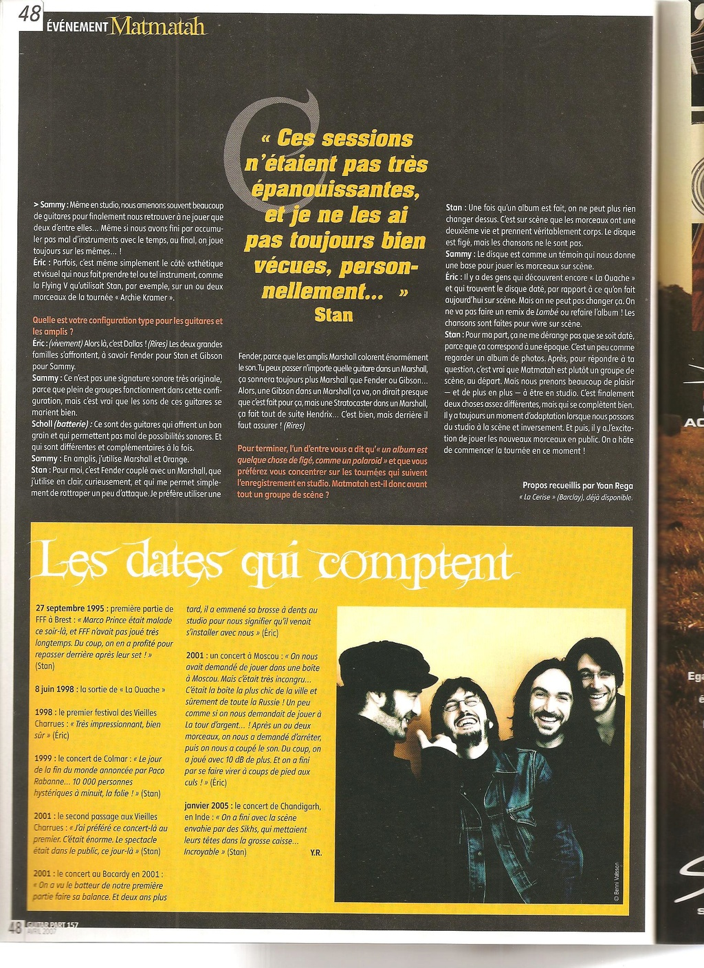 Archives - anciens articles... Guitar32
