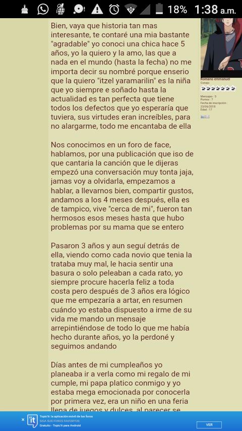 Relación a distancia sin olvidar Screen13