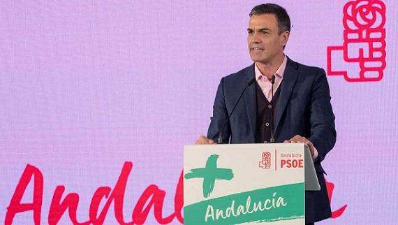 """PSOE   Pedro Sánchez: """"Queremos seguir trayendo el bienestar para los ciudadanos y las ciudadanas de Andalucía"""". 15425511"""