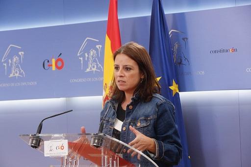 PSOE - UP   Rueda de prensa tras el acuerdo entre PSOE y Unidos Podemos para la reforma del Senado. 44185710
