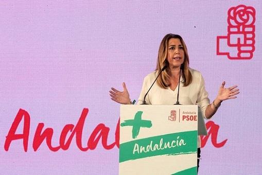 """PSOE   Pedro Sánchez: """"Queremos seguir trayendo el bienestar para los ciudadanos y las ciudadanas de Andalucía"""". Diaz_210"""
