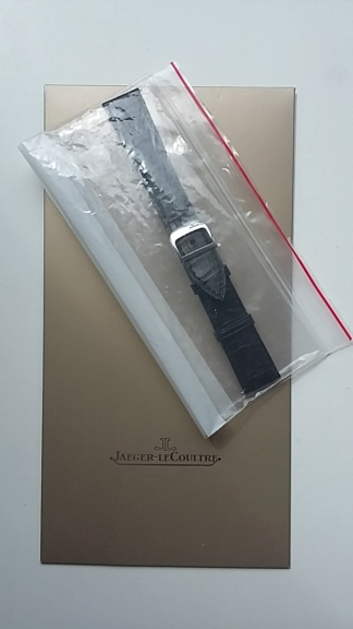 A vendre Bracelet Jaeger Lecoultre neuf alligator noir + boucle deployante JLC neuve 20180715