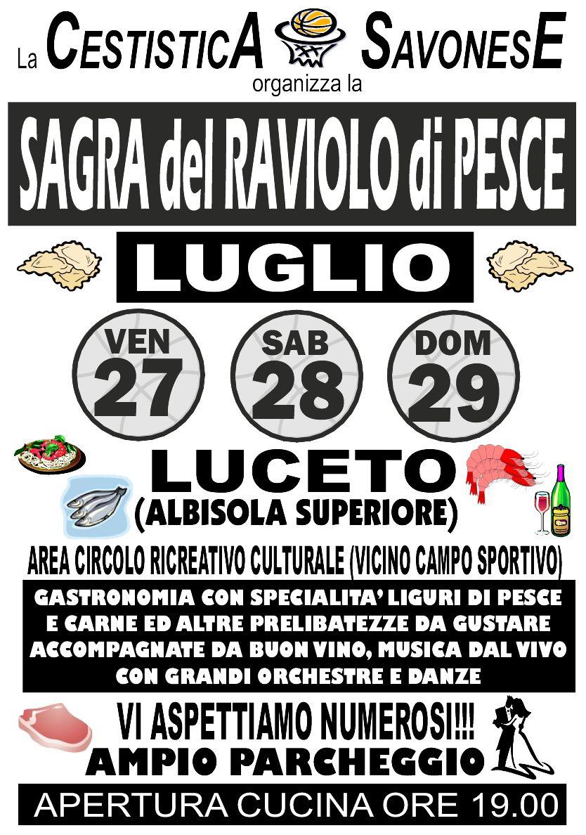SAGRA del RAVIOLO di PESCE - LUCETO (ALBISOLA SUPERIORE-SV) Manife10