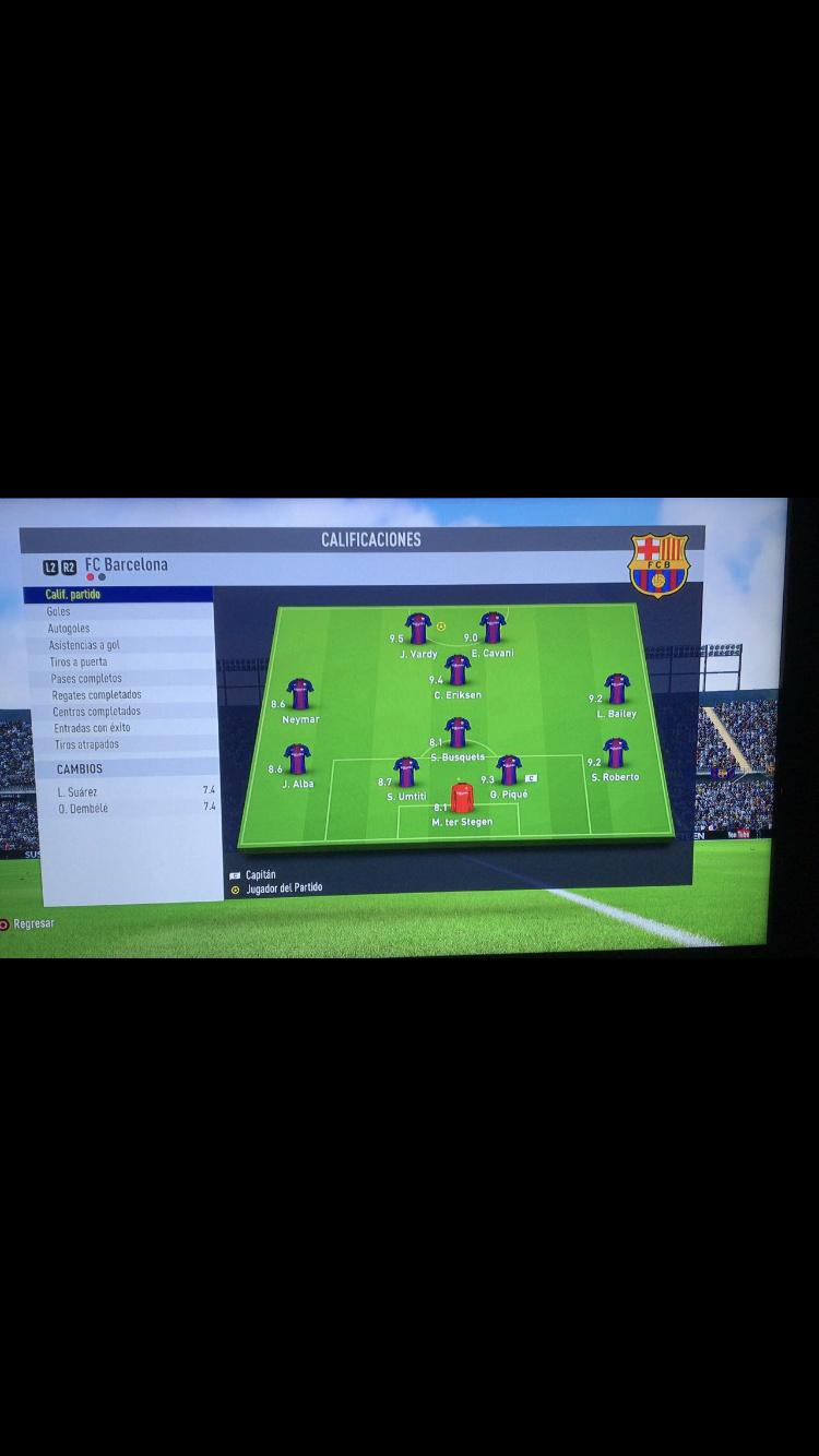 [FECHA 1] Barcelona -  Bayern Munich 4cfc2710