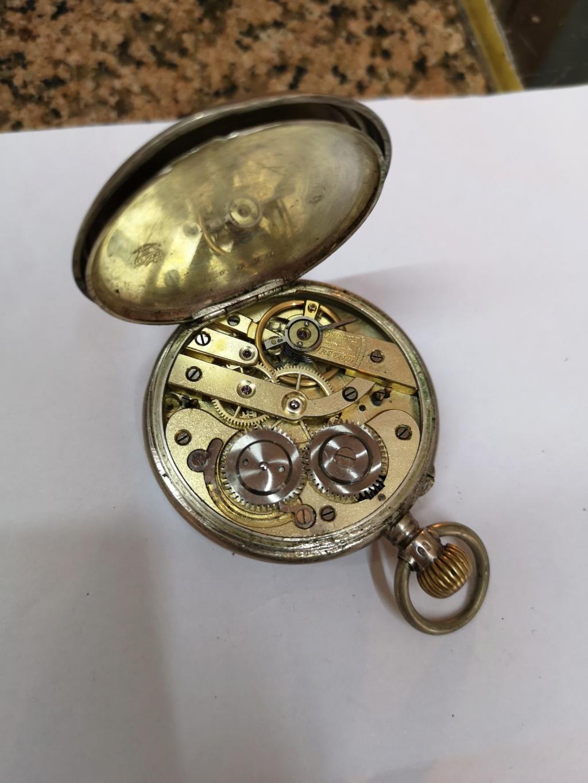[Vendo] Relógio de bolso em prata. Movimento Martelo Img_2041