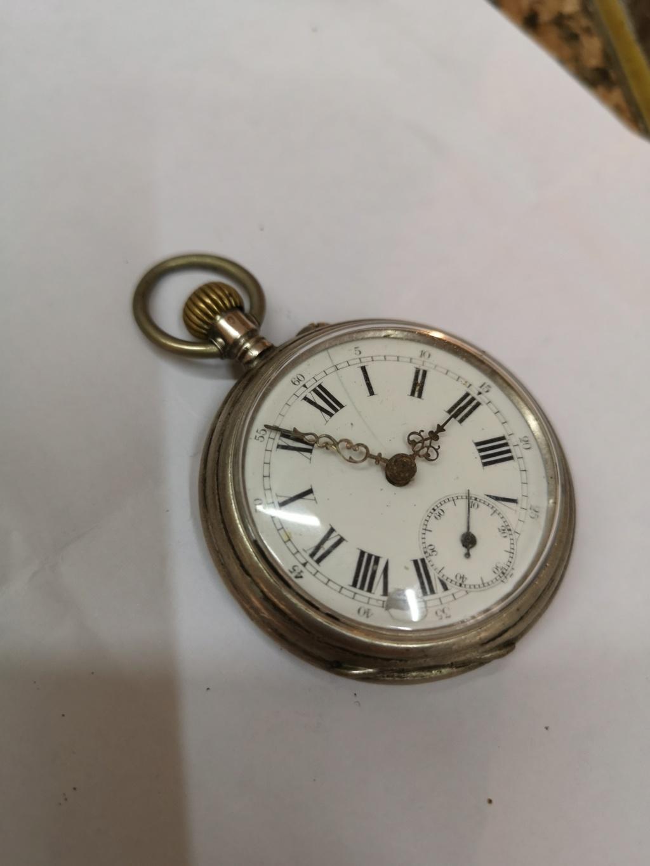 [Vendo] Relógio de bolso em prata. Movimento Martelo Img_2042