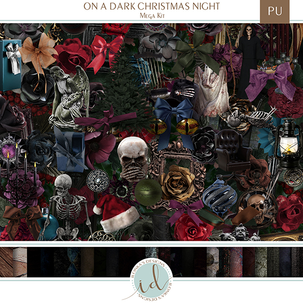 Promo On A Dark Christmas Night - Release November 23 2020 Id_ona10