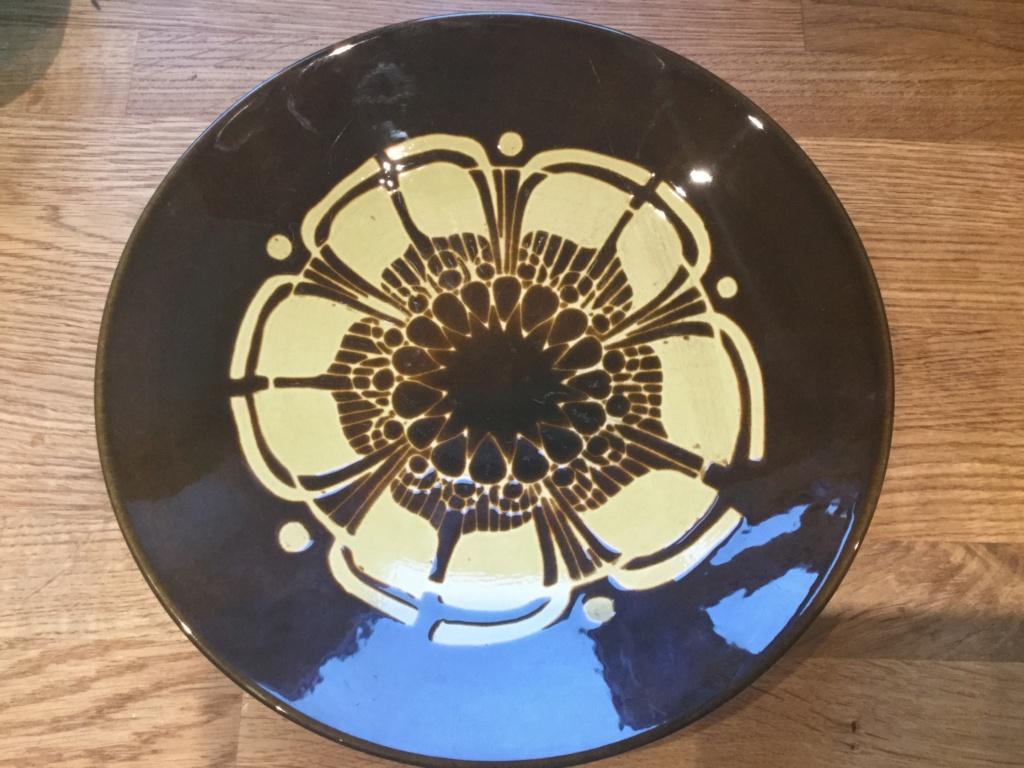 Poole pottery Aegean signed  888da610
