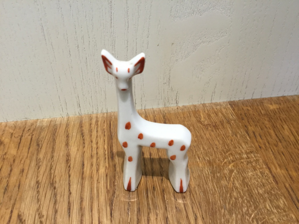 Unusual giraffe figure 8f2ab610