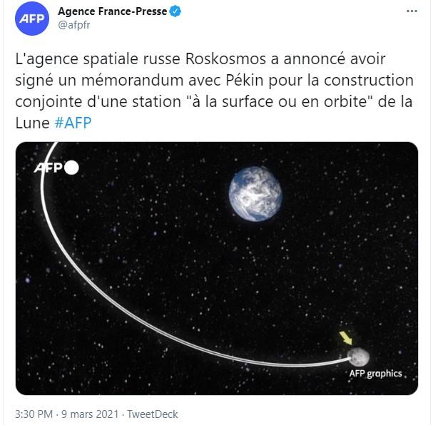 Station lunaire : signature d'un mémorandum Chine / Russie 137