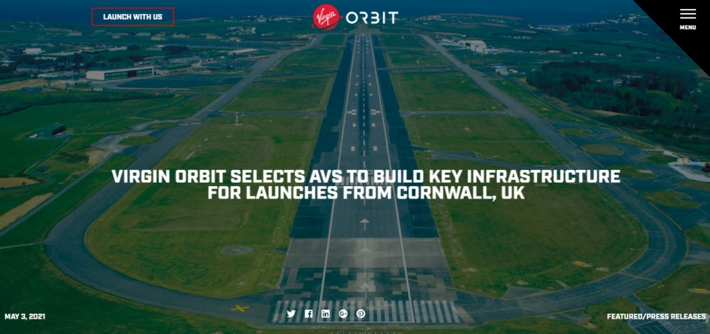 Virgin Orbit - Site de lancement des Cornouailles (UK) 140