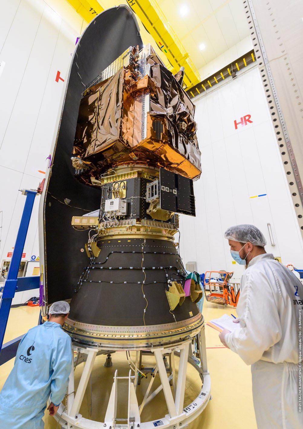 Vega VV18 (Pléiades Neo 3 & NORSAT 3) - CSG - 29.4.2021 1_jfif17
