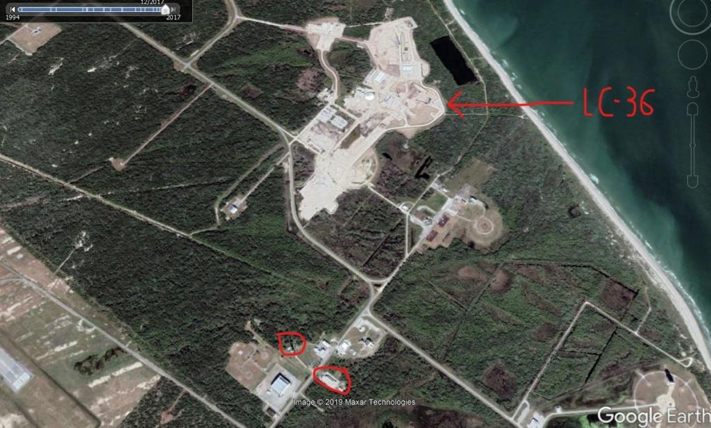 [Blue Origin] LC-36, le complexe de lancement New Glenn Annota12