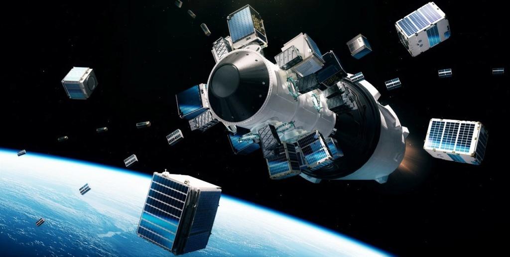 Falcon 9 (Transporter-1 + 10 Starlink) - CCSFS - 24.1.2021 Falcon10