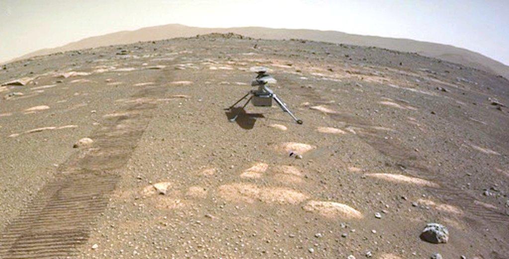 Mars 2020 (Perseverance) : exploration du cratère Jezero - Page 7 Helico10