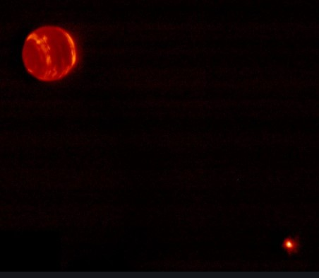 Observation de Neptune depuis la Terre Neptun10