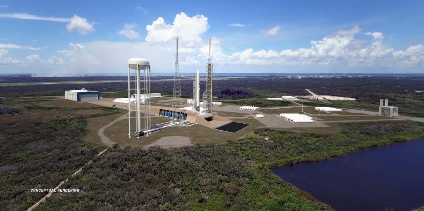 [Blue Origin] LC-36, le complexe de lancement New Glenn Scree710