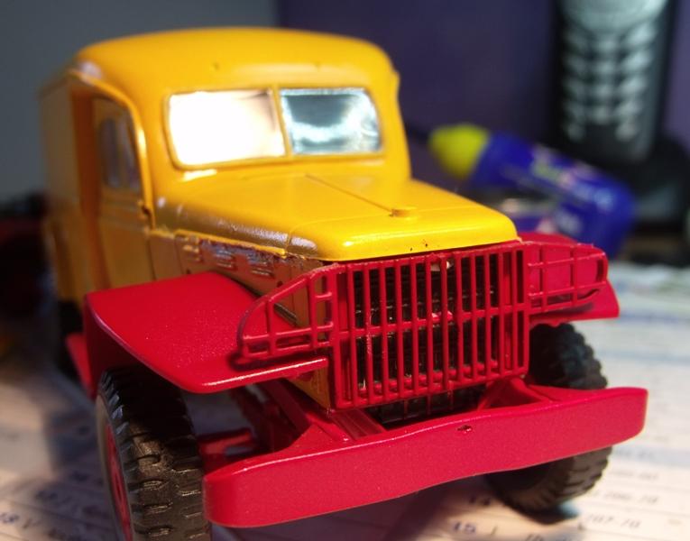Les Dodge de chez PINDER 1/35 Grille14