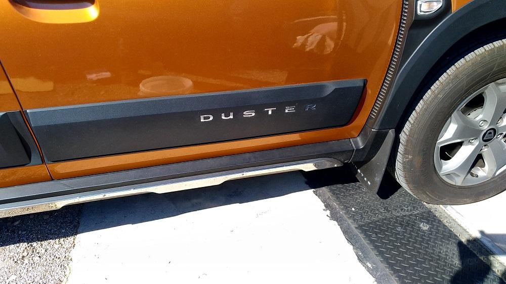 Reception de mon Duster Black Collector P_202052