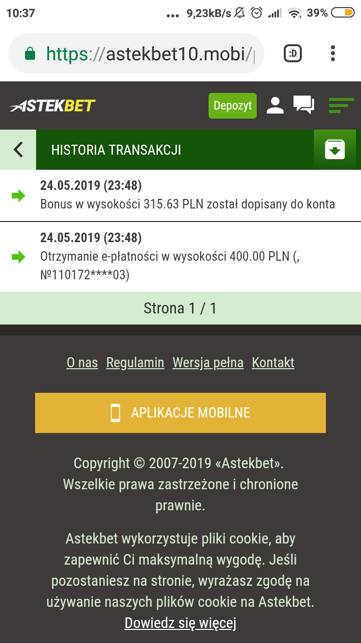 Astekbet bonus 100 euro - Page 7 Screen14
