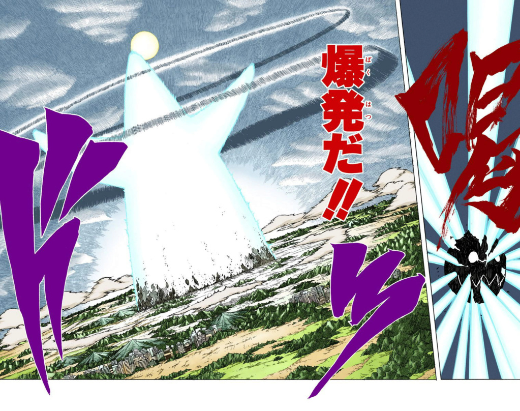 6 membros da Akatsuki vs Madara clones  057-0512