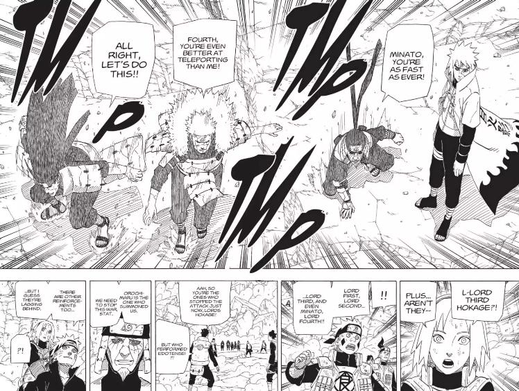 Tobirama foi morto por Kinkaku & Ginkaku [Tradução Oficial Panini] - Página 5 Minato10