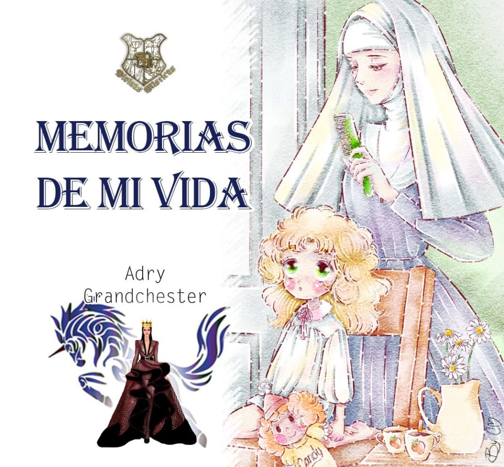 Divinas Místicas, Psiquie con Volt el unicornio lanza rayo celeste debastador con Memorias de mi vida Capítulo I Maria_11