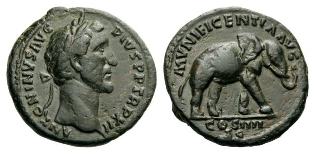 Antonin le Pieux vraie ou fausse pièce. 1410