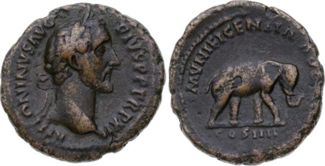 Antonin le Pieux vraie ou fausse pièce. 17101810