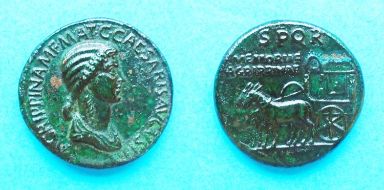 Faux Sesterce  Agrippina Senior, votre avis? Fake1_10