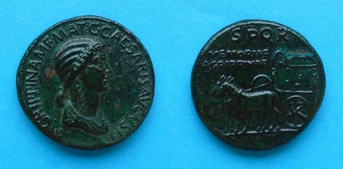 Faux Sesterce  Agrippina Senior, votre avis? Fake2_10