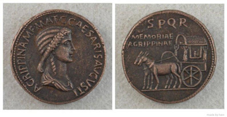 Faux Sesterce  Agrippina Senior, votre avis? Fake310