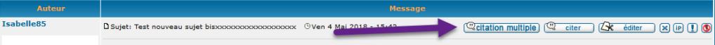 """[PHPBB2]Afficher les boutons """" éditer, citer, supprimer, etc ... """" sous forme de texte 0110"""
